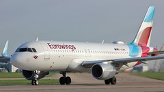D-AEWN (AnDyMHoLdEn) Tags: eurowings a320 lufthansagroup staralliance egcc airport manchester manchesterairport 23l