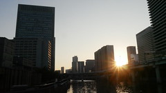 Sunset (yukky89_yamashita) Tags: osaka sunset buildings 大阪市
