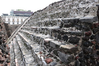 Templo Mayor - the central temple site of central Aztec Tenochtitlan