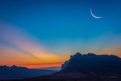 San Rafael Sunrise (McKendrickPhotography.com) Tags: sanrafaelreef utah sunrise sunset crescentmoon desert