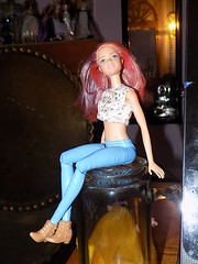 I need help please.Barbie  Dancing  Fun Horse Horse (marieschubert1) Tags: barbie dolls fashion name identify jane doe search finding plastic articulated mattel child toy sitting posing portrait