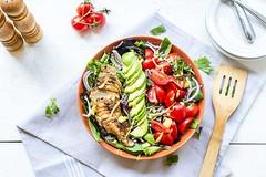 Taco Chicken Salad (thetortillachannel) Tags: recipe cooking food salad chicken tasty delicious keto easy lowcarb savory video