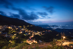 The Golden Valley (definitemylife) Tags: night landscape cityscape bluehour blue sony a7riii zeiss
