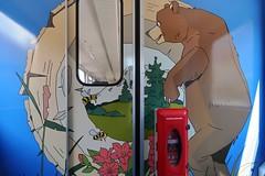 RhB Arosabahn - Beware of the Bear (Kecko) Tags: 2018 kecko swiss switzerland schweiz suisse svizzera graubünden graubuenden gr chur railway railroad bahn eisenbahn bahnhof station train zug bärenlandzug bärenland rhb europe rhätischebahn viafierretica rhaetianrailway arosabahn b2319 swissphoto geotagged geo:lat=46853920 geo:lon=9530670