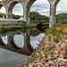 Old railway viaduct in Cullen