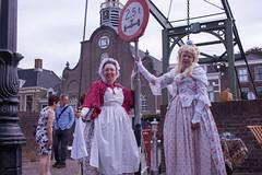 Geleerd ende Ghenoten (hans s) Tags: rotterdam 2018 ketelsaandekade delfshaven