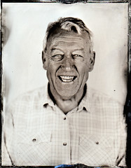 Kev (fitzhughfella) Tags: wetplate tintype tinplate collodion ether silvernitrate largeformat 4x5 portrait