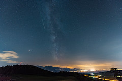 Perséides 2018 (escapevelocity-ch) Tags: hicham dennaoui escape velocity escapevelocitych nightscape switzerland suisse paysage nocturne beautiful amazing magnifique night landscape étoile star photo skies astrophotography astrophotographie nuit étoilé starry nikon d800 perseid meteor shower saturn mars milky way voie lactée perséides 2018