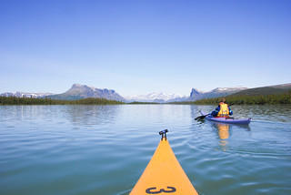 The beauty of Laponia Wilderness - Kayaking Lake Laitaure