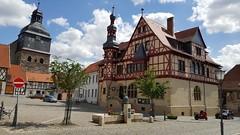 Harzgerode - Rathaus und St. Marienkirche (ohaoha) Tags: europa europe deutschland germany alemania sachsenanhalt harz harzgerode rathaus kirche kirchestmarien