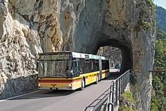 STI Nr. 89 Merligen Nastel (Bus und Bahn by SF) Tags: sti steffisburg thun interlaken thunersee merligen tunnel man ng363 autbus dieselbus