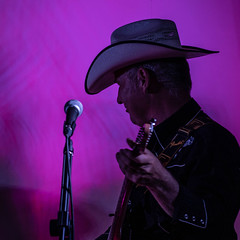 Country (Laura Drury) Tags: hythe music guitar guitarist cowboy hat country countrymusic cowboyhat gig musician mic singer