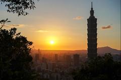黃昏101 (米漿 專賣店) Tags: 象山 taipei taipei101 101 台北101 a7r3 fe55
