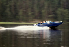 """""""Full speed"""" (irio.jyske) Tags: naturephoto nature naturepictures naturescape naturephotos naturephotograph naturepic naturepics natural naturephotographer tourist motorboat boat travel speed fast toofast forest trees summer evening"""