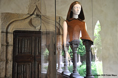 Disappearing Act (Trish Mayo) Tags: exhibit art costume fashion reflections thecloisters metmuseum