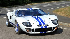 1997 GTD SUPERCARS GT40 Replica LLJ 121F (BIKEPILOT, Thx for + 5,000,000 views) Tags: classicsattheclubhousesandfordspringshotelgolfclub kingsclere hampshire uk england britain car sportscar racing gt40 ford 1997 gtdsupercarsgt40 replica llj121f 2006 fma518f 2016 hop130 white vehicle automobile transport classic