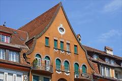 Immeubles jugendstil (Berne, Suisse) (dalbera) Tags: dalbera berne suisse jugendstil immeubles artnouveau monbijoustrasse