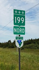Day 4 - Quebec Cycling Route 1 Marker (Bobcatnorth) Tags: lesilesdelamadeleine magdalenislands quebec canada summer 2018 cycling velo bicycle bicycling cycletouring bicycletouring touring tourdevelo gulfofstlawrence