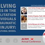 ACRM Annual Conference International Rehabilitation & Brain Injury symposium: 453601 Lasprilla thumbnail