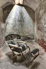 Barber shop Eastern state penitentiary (Mr JM BURT) Tags: penitentiary jail abandonned lost urbex