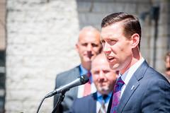 Governor Baker Signs Bill Improving Firefighter Health Care Access 07.24.18 (Office of Governor Baker) Tags: lynn firefighters h2515 anactrelativetodiabilitybenefits cancer firefightersbill legislature speech