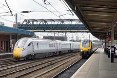 Doncaster Station (Neil Pulling) Tags: doncasterstation doncaster eastcoastmainline ecml railway uk southyorkshire england yorkshire iep 800202