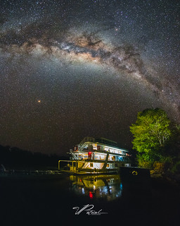 Milky Way in the Pantanal