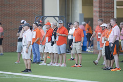 Image Taken at the Oklahoma State Cowboy Football Practice, Friday, August 3, 2018, Sherman Smith Training Center, Stillwater, OK. Bruce Waterfield/OSU Athletics (OSUAthletics) Tags: 2018 big12 cowboys fall fallcamp football oklahomastate oklahomastateuniversity osu pokes practice