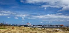 Grenaa harbour DK (G E Nilsen) Tags: centraldenmarkregion denmark grenå dk grenaa harbour clouds sky ship ferry