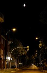 Lunar Eclipse with Mars (v.boldychev) Tags: fuji reddish color red moon mondfinsternis blutmond mond bloodmoon lunareclipse rötlich stadt strase nacht city road night mars germany königswusterhausen