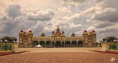 Clouds Before Lunch (Just Call Me Dave) Tags: mysorepalace india clouds mysuru architecture buildings spring ef2470mmf28liiusm