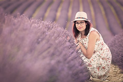 _DSC7738 (quentinfrans) Tags: d750 tamron 70200 france valensole angelvin provence lavande girl women femme