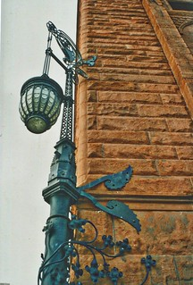 Cleveland Ohio -  Society for Savings Building - Old Gas Lamp