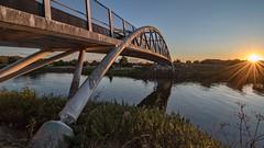 Fathorse Bridge (alexcalver) Tags: modern bridge bst england uk derbyshire sawley shardlow fathorsebridge