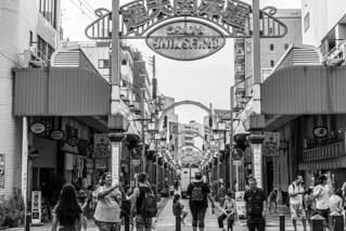 Tsutenkaku Main Street(通天閣本通)