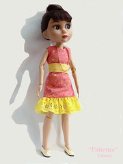 Patience (M.P.N.texan) Tags: doll toy vinyl jointed patience tonner collectible collectable dress handmade original