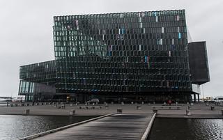 The Harpa or Opera House, Reykjavik.