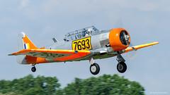 T-6 Texan (dpsager) Tags: 2018 dpsagerphotography eaaoshkoshairshow northamericant6texan oshkosh wisconsin aircraft airplane airshow eaa airventure vividstriking osh18