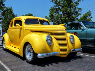 Chopped 1938 Ford Coupe