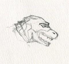 sc0217 (Josh Beck 77) Tags: drawing doodle sketch scifi sciencefiction fantasycreature