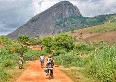 Rural track in Zambezia Province.