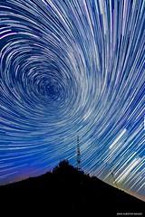 For Vincent: Perseid Vigil Startrail (john&mairi) Tags: startrail stars distortion perseids meteor shower comet swifttuttle radiotransmitter batacharchel drymen stirlingshire
