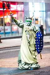 They Call This Liberty and Freedom of Choice (Thomas Hawk) Tags: america manhattan newyork newyorkcity statueofliberty timessquare usa unitedstates unitedstatesofamerica fav10