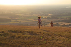 Devils Dyke (nt aonb) (Adam Swaine) Tags: southdowns aonb nationaltrust sunset dusk eastsussex rural england englishlandscapes britain british uk ukcounties counties countryside beautiful summer seasons canon nature sussexlandscape county greatbritain parks national