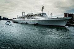 ms Rotterdam (soundmoods) Tags: ship rotterdam motorship water classic canon thenetherlands boat cruise sea cruiseship