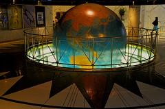Lobby Daily News Building, New York (MPnormaleye) Tags: landmark historical newspaper lobby globe planet marble nyc manhattan utata 24mm display science