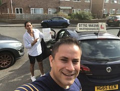 Massive congratulations to Fernando Rios passing his driving test on his first attempt with Leo's driving school.  www.leosdrivingschool.com