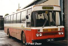 Bus Eireann MDS64 (64IK). (Fred Dean Jnr) Tags: capwelldepotcork buseireanncapwelldepot cork buseireann leyland leopard m64 md64 mds64 64ik ik capwell december1997