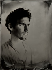 """Pierre"" (patrickvandenbranden) Tags: ambrotype wetplate collodion collodionhumide alternativeprocess blackandwhite noiretblanc portrait studio"