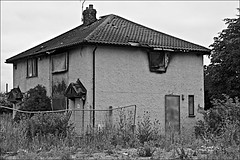 Semi Detached in Hull  Monochrome (brianarchie65) Tags: derelict lapollution rubbish shameful dereliction destroyed prestonroad kingstonuponhull cityofculture trash canoneos600d brianarchie65 geotagged unlimitedphotos ngc blackandwhite blackandwhitephotos blackandwhitephoto blackandwhitephotography blackwhite123 blackwhiterealms flickrunofficial flickr flickruk flickrcentral flickrinternational ukflickr